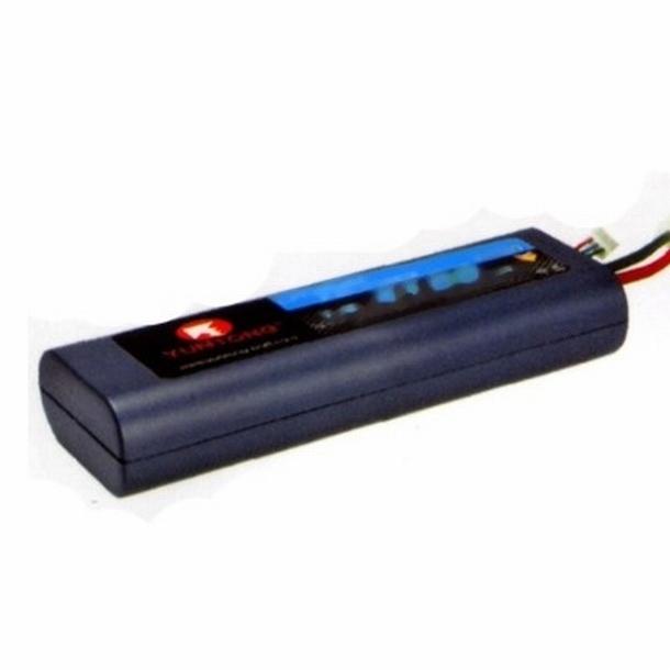 Yuntong 2S 7.4V 4000 mAh LiPo 20C Hardcase deans accu pack