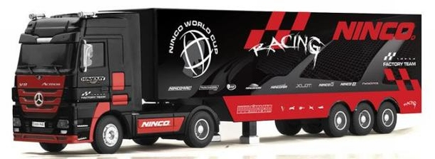 Ninco Mercedes Benz Actros Racing Heavy Duty RC Vrachtwagen