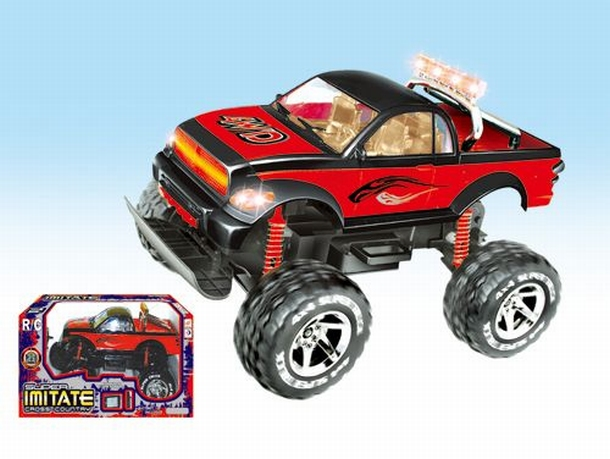 Monstertruck Force speelgoed modelbouw RC Monster Truck 1:10