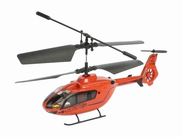 Radiografisch bestuurbare Helicopters