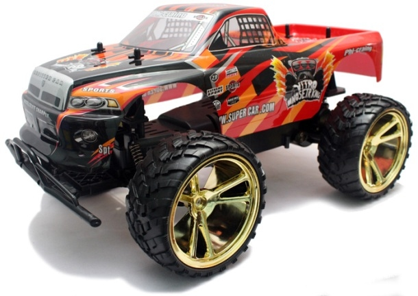 NQD Big Foot Big Wheel King speelgoed RC Monster Truck 1:10