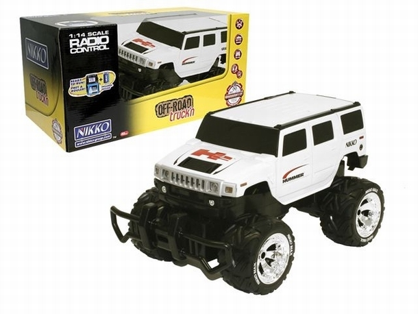 Nikko Hummer H2 Swing Back speelgoed modelbouw RC MonsterCar