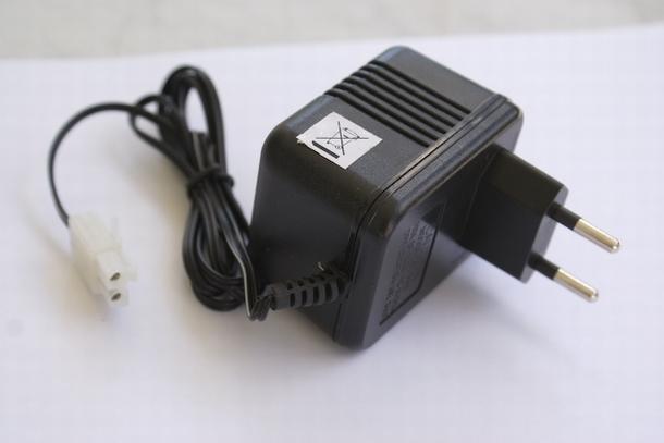 oplader AC/DC 7,2 V 400mA lader adaptor adapter RC oplader