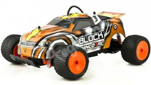 Ninco 4rc Parkracers XB18 Block Lexan RC Truggy auto 1:18