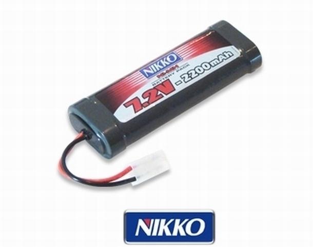 Nikko 7.2V 2200 mAh NiMH accu battery pack met stekker