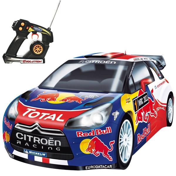 Nikko Citroen DS3 WRC 11 EVO pro line semi prof rc auto 1:14