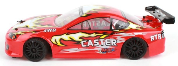 Amewi Caster 4WD mini on road touring car prof rc auto 1:18