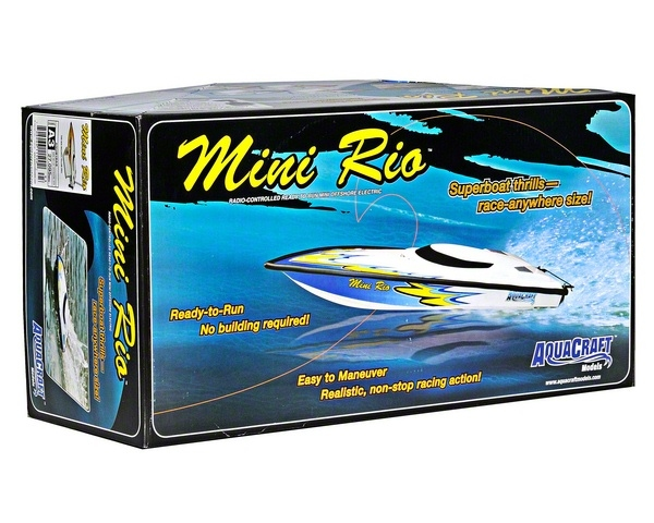 AquaCraft Mini Rio Offshore RTR EP modelbouw RC speed boot