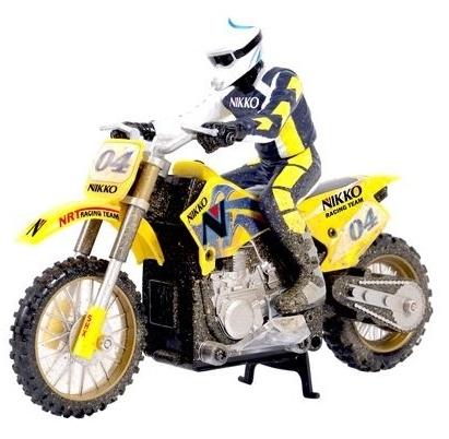 Nikko Cross Bike speelgoed modelbouw RC CrossMotor fiets