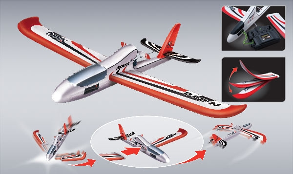 Nikko Phoenix stunt plane evo pro line model RC Vliegtuig
