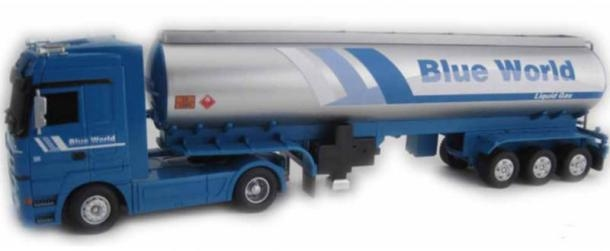 Ninco Mercedes Benz Actros Blue World Heavy Duty RC Truck