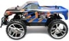 Blauwe NQD Big Foot Big Wheel King speelgoed RC MonsterTruck