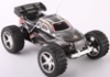 Zwarte Amewi Mini Running Dog speelgoed model rc truggy 1:52