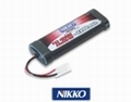 Nikko 7.2V 2200 mAh NiMH accu battery pack met stekker 